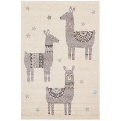 Tapis rectangulaire Petits lamas (80 x 150 cm)