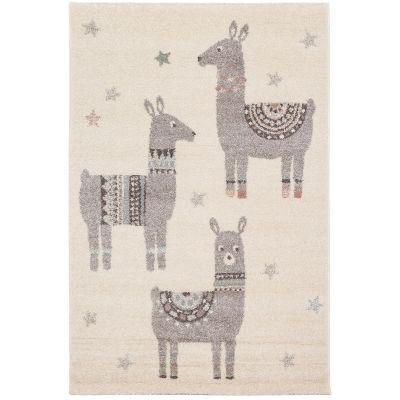 Tapis rectangulaire Petits lamas (80 x 150 cm) Art for Kids