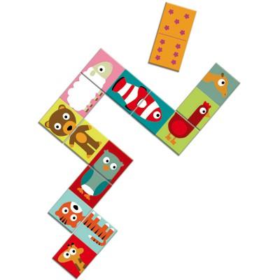 Domino animo-puzzle  par Djeco