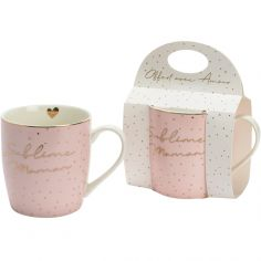 Mug rose poudré Sublime maman