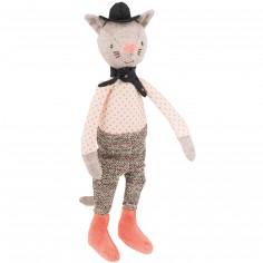 Mini poupée souple chat le Galant Il était une fois (24 cm)