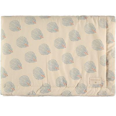 Mini couverture bébé Blue Gatsby Cream (70 x 70 cm)  par Nobodinoz