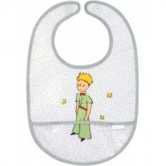 Bavoir à velcro plastifié Le Petit Prince