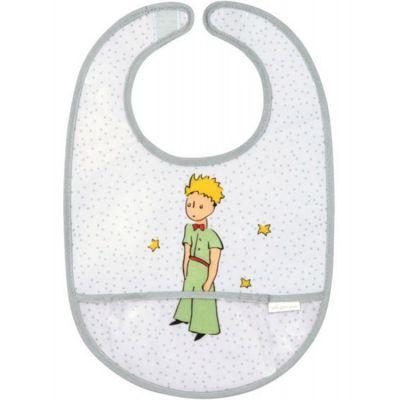 Bavoir à velcro plastifié Le Petit Prince  par Petit Jour Paris