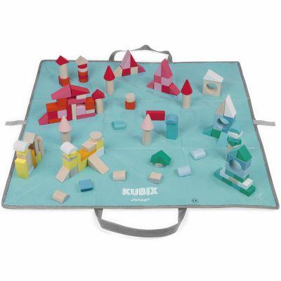 Blocs de construction Kubix (120 cubes)  par Janod