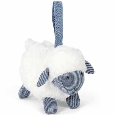 Peluche à suspendre Welcome to the World mouton bleu Mamas and Papas