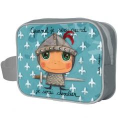 Trousse de toilette Quand je serai grand je serai chevalier
