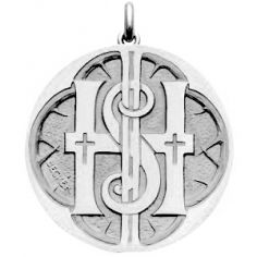 Médaille Monogramme (argent 925°)