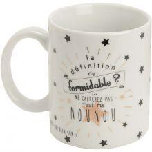 Mug Nounou formidable  par Amadeus Les Petits