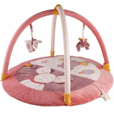 tapis d 39 veil avec arches mia et victoria 85 x 85 cm. Black Bedroom Furniture Sets. Home Design Ideas