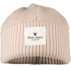 Bonnet en laine Powder Pink (0-6 mois)