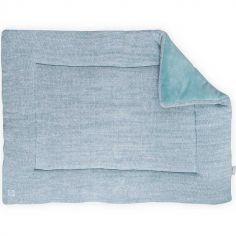 Tapis de jeu Melange knit vert d'eau (80 x 100 cm)