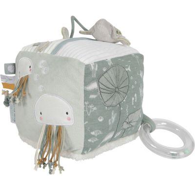 Cube d'activités Soft Ocean mint  par Little Dutch