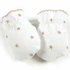Moufles de naissance Amelie pierre