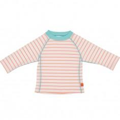 Tee-shirt de protection UV à manches longues Splash & Fun marin pêche (24 mois)