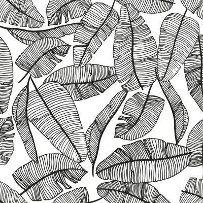 Papier peint motif feuillage (10 m)  par Lilipinso