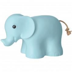 Veilleuse éléphant bleu