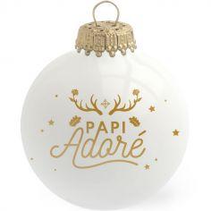 Boule de Noël Papi Adoré