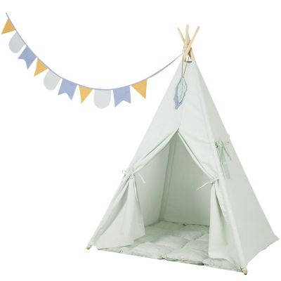 Tente de jeu tipi Adventure mint  par Little Dutch