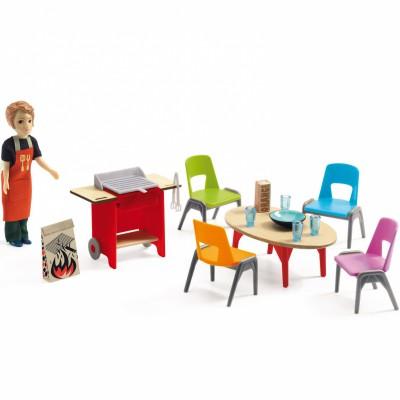 Kit meubles Barbecue et accessoires  par Djeco