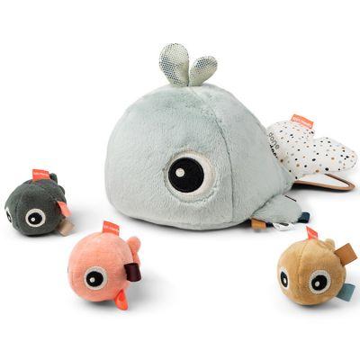 Jouet d'éveil Hide&Seek baleine Wally  par Done by Deer