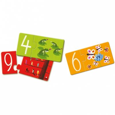 Puzzles Duo de chiffres (20 pièces) Djeco