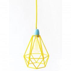 Lampe baladeuse Diamond 1 jaune