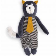 Peluche chat Alphonse Les Moustaches (23 cm)