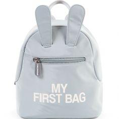 Sac à dos bébé My first bag gris (23 cm)