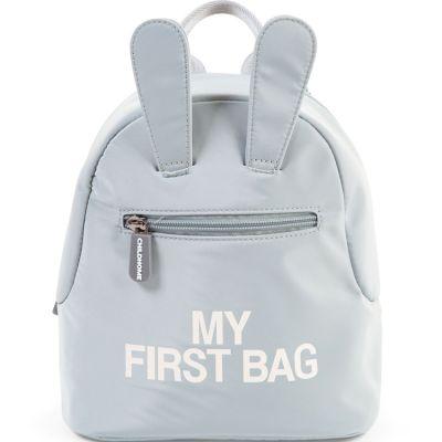Sac à dos bébé My first bag gris (23 cm) Childhome