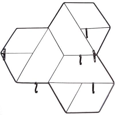 Pêle-mêle décoratif Forme géométrique noir (23 x 62 cm)  par Art for Kids