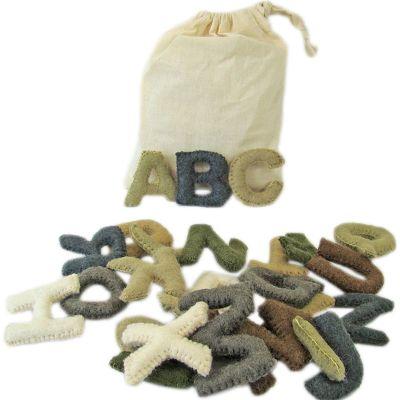 Alphabet en feutrine  par Papoose