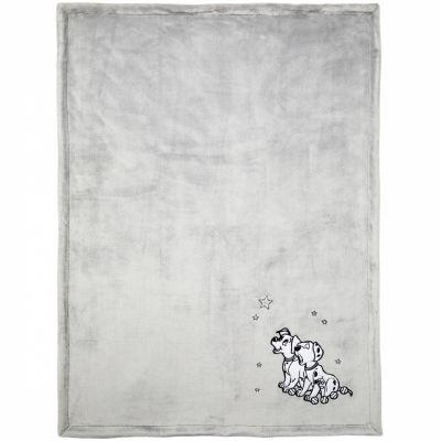 Couverture velours Les 101 Dalmatiens (75 x 100 cm)  par Babycalin