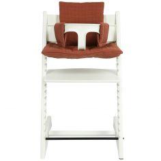 Coussin de  chaise haute Tripp Trapp de Stokke Bliss Rust