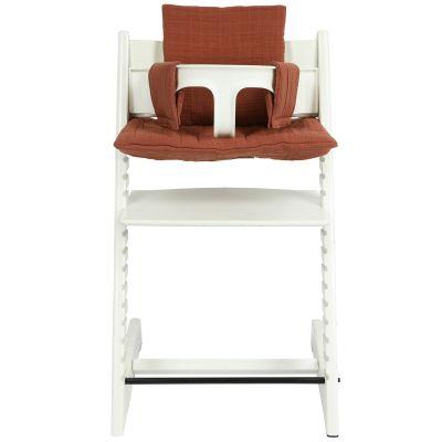 Coussin de  chaise haute Tripp Trapp de Stokke Bliss Rust  par Trixie