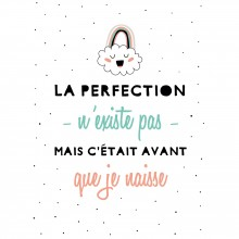 Affiche La perfection nuage (30 x 40 cm)  par BB & Co