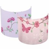 Applique murale Pink blossom (20 x 24 cm) - Little Dutch