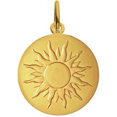 Médaille Je brillerai comme un soleil 18 mm (or jaune 750°)