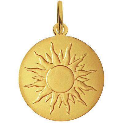 Médaille Je brillerai comme un soleil 18 mm (or jaune 750°)  par Monnaie de Paris