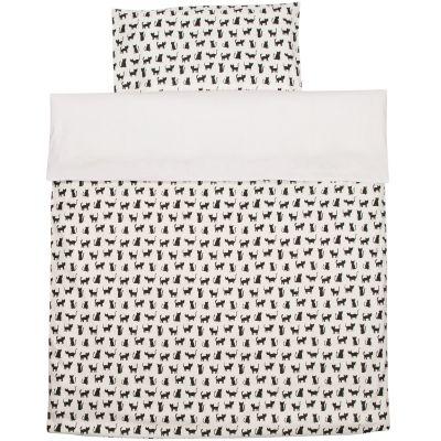 Housse de couette + taie d'oreiller Cats (140 x 200 cm)  par Trixie