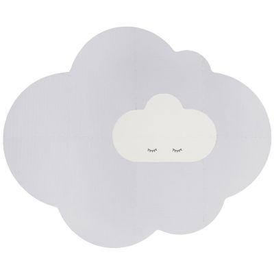 Tapis de jeu pliable nuage gris perle (175 x 145 cm)  par Quut