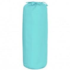 Drap housse turquoise (40 x 80 cm)