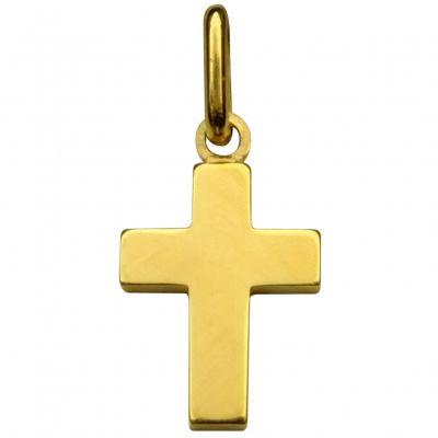 Croix  14 x 10 mm (or jaune 750°)  par Premiers Bijoux