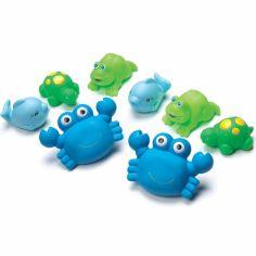 Arroseurs de bain bleu (8 pièces)