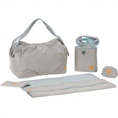 Sac à langer Casual twin gris clair