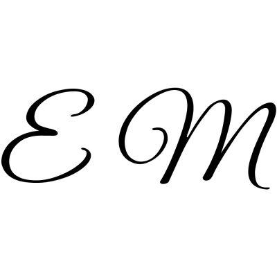 Gravure 2 initiales sur orfèvrerie (Typo Great Vibes)  par Gravure magique