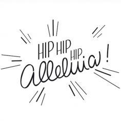 Tampon Hip Hip Hip Alléluia