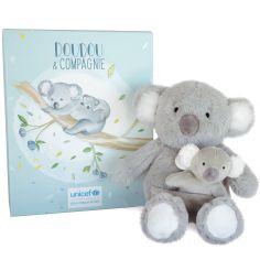 Coffret peluche koala Bébé & moi UNICEF (25 cm)