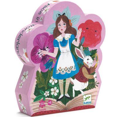 Puzzle Alice au Pays des Merveilles (50 pièces)  par Djeco