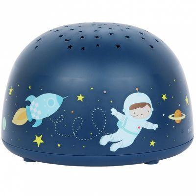 Veilleuse projecteur d'étoiles Espace  par A Little Lovely Company